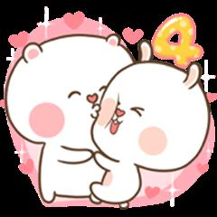 TuaGom : Puffy Bear & Rabbit 4