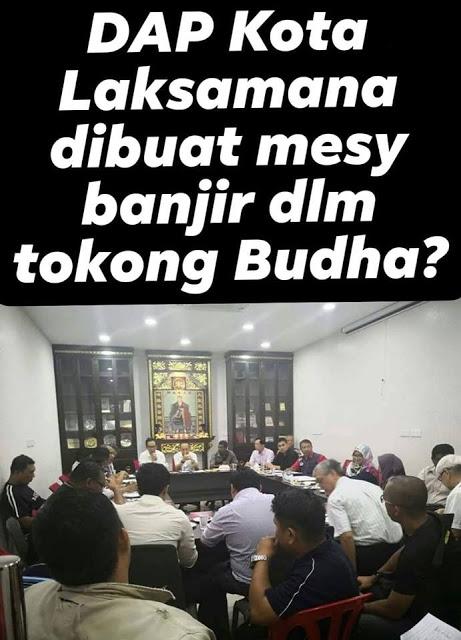 Pegawai Melayu Dipaksa Mesyuarat Di Tokong, Ini Penjelasan EXCO.