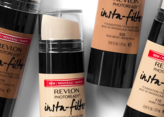 Revlon Photoready Insta-Filter Foundation All Shades Review MAC Comparisons