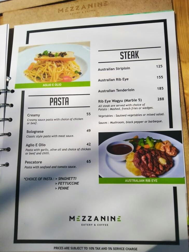 Review Mezzanine Eatery And Coffee Tempat Makan Unik Ala Rumah Kaca
