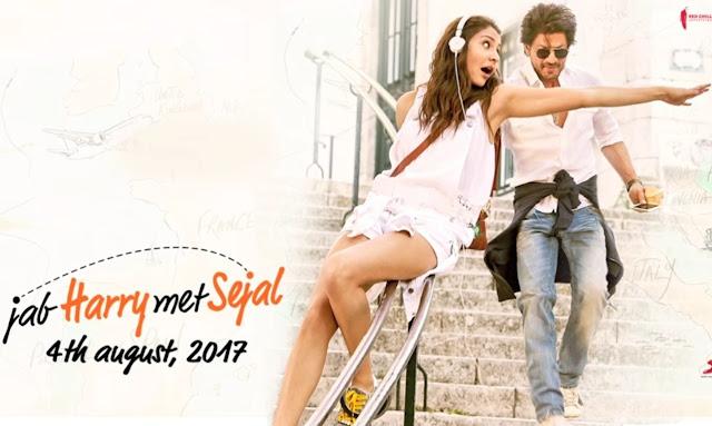 Jab Harry Met Sejal Film Wallpaper Shahrukh Khan Anushka Sharma