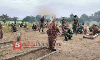 Kodim Bojonegoro Lakukan Karya Bhakti Dalam Rangka HuT Ke 69 Korem 082/CPYJ
