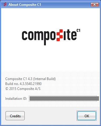 Composite C1 CMS версия 4.3 бета
