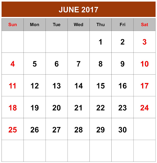 June 2017 Calendar, June calendar 2017, June 2017 Printable Calendar, June 2017 calendar Printable, June 2017 Blank Calendar, June 2017 Calendar with Holidays