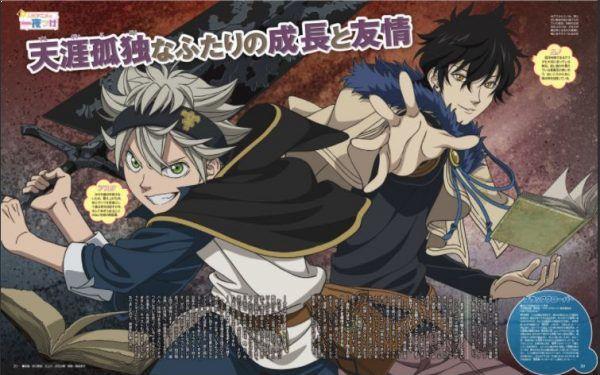 Daftar Anime Mirip Black Clover