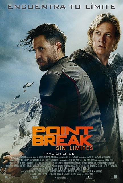 Cartel: Point Break (Sin límites) (2015)