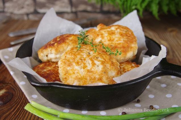 Drobiowe kotlety z serem