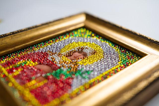 вышивка бисером иконы