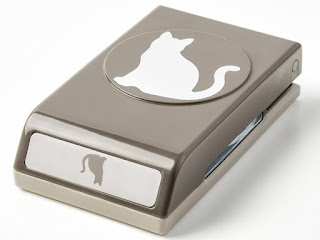Make adorable cat cards with the Cat Punch by Stampin' Up!