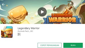 Mod Legendary Warrior Game RPG