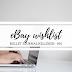 Ebay wishlist #10 - Bullet journal kellékek