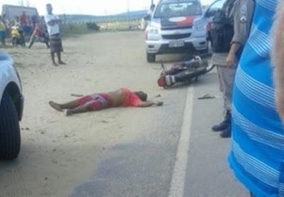 Homem morre em acidente de moto em Taperoá