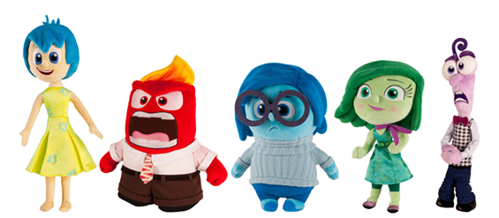 Disney Pixar S Inside Out Plush Meet Joy Anger
