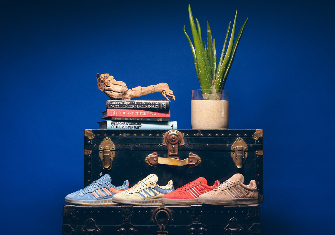 234724d9 adidas and LA-based Oyster Holdings join forces for four spring-ready takes  on two classic adidas silhouettes: the Handball Top and 350. All inspired by  the ...