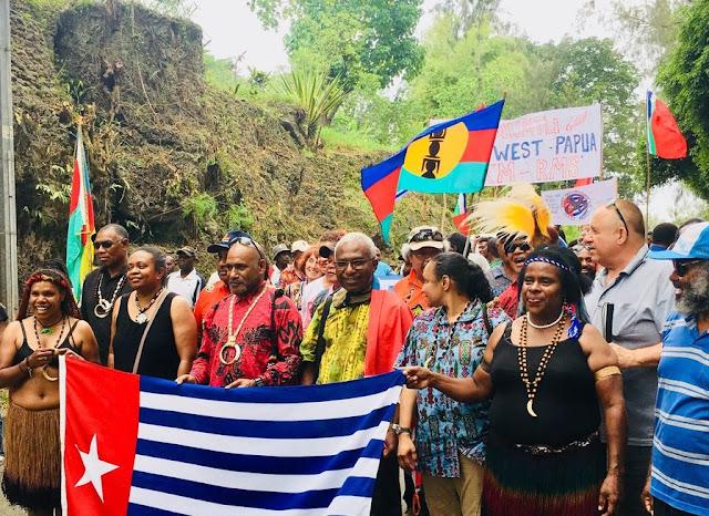 Mulai Besok Kanaky Referendum, ULMWP Berdiri dalam Solidaritas dengan New Caledonia