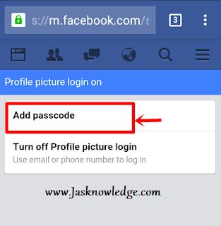 add passcode