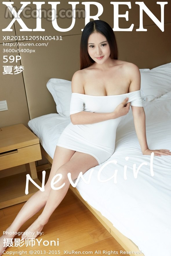XIUREN No.431: Người mẫu Xia Meng (夏梦) (60 ảnh)