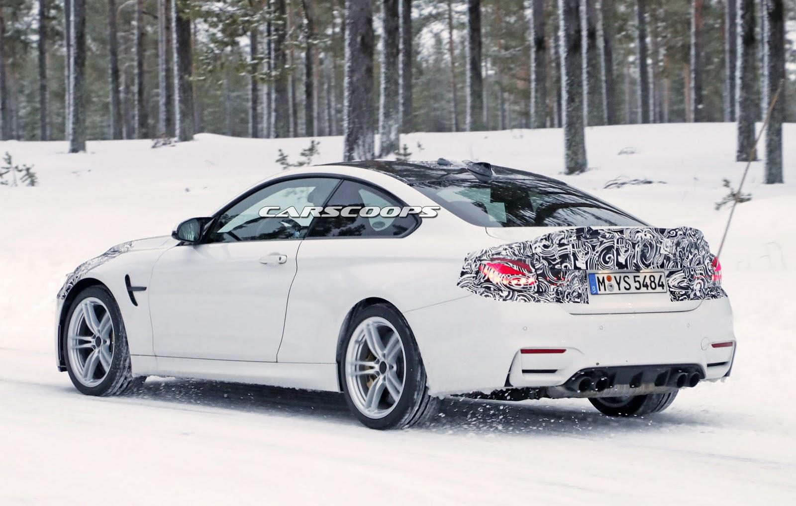 2014 - [BMW] M3 & M4 [F80/F82/F83] - Page 24 Spied-BMW-M4-CS-10