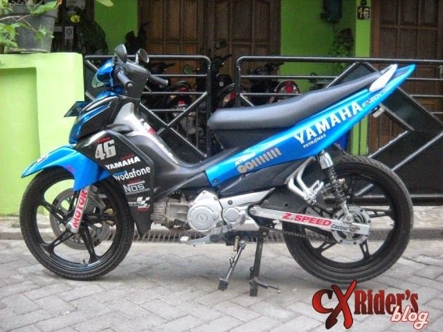 Modifikasi Motor Yamaha Jupiterz 2010 Racing