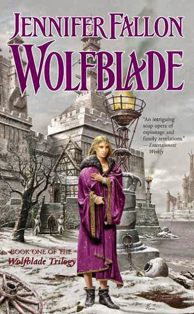 Book Cover of Wolfblade (Hythrun Chronicles: Wolfblade Trilogy: Book 1)  by Jennifer Fallon