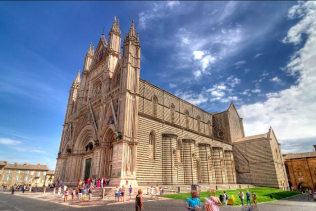 The dramatic city of Orvieto is one of Central Italy's best-kept secrets