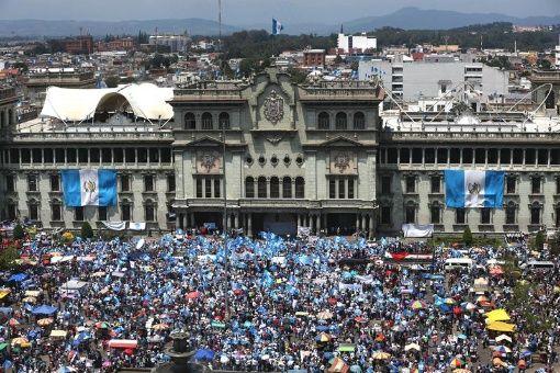 Grupos sociales de Guatemala piden quitar inmunidad a diputados
