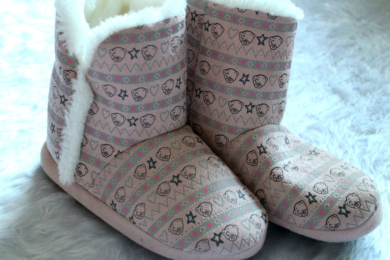 New Look Me To You Slipper Boots