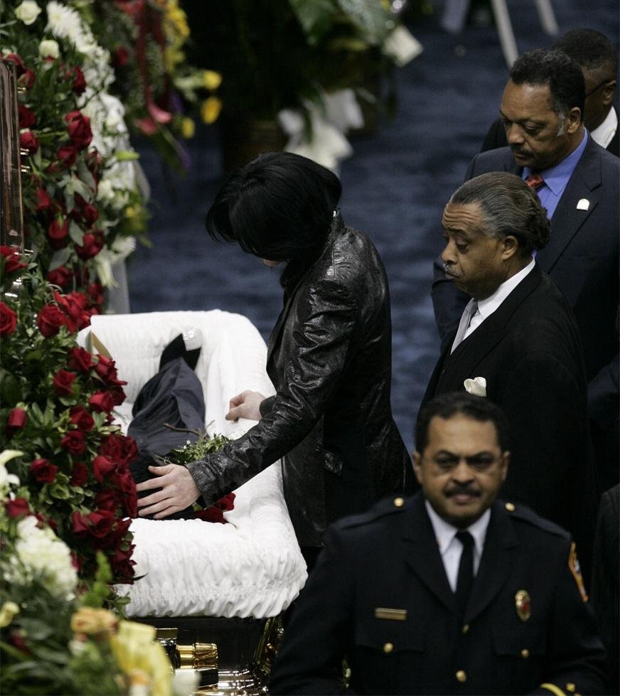 At James Brown's funeral. | Michael | Pinterest | Funeral, Michael ...