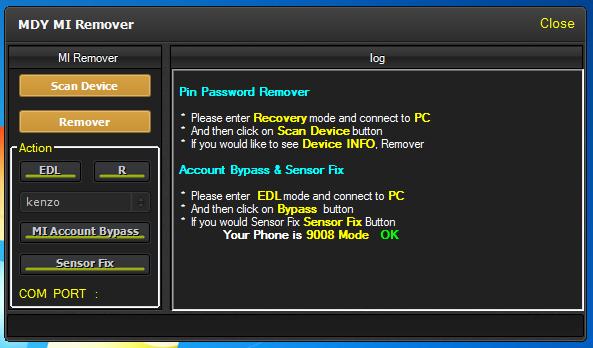 Mi Account Unlocker Amp Sensor Fix Tool Download Free Perfect Mobile Solution