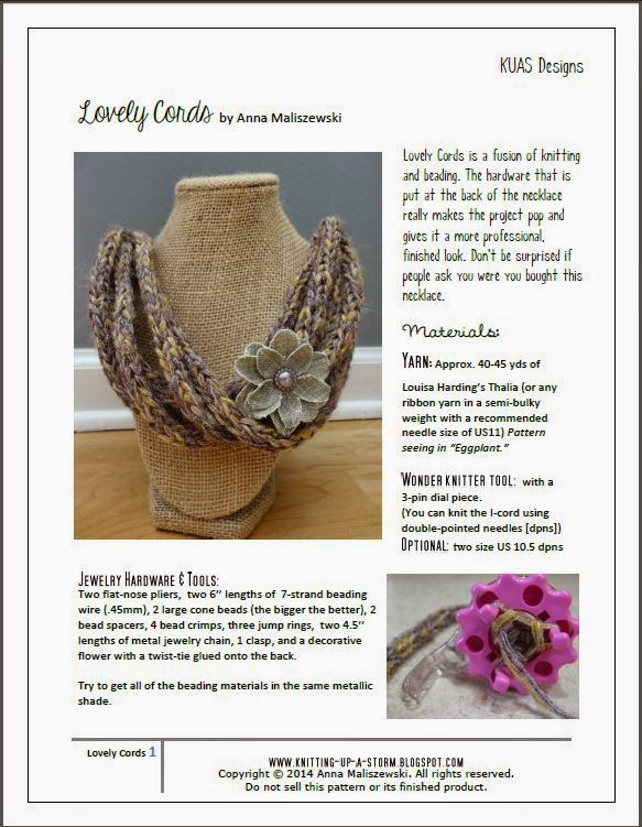 Knitting Up A Storm: October 2014