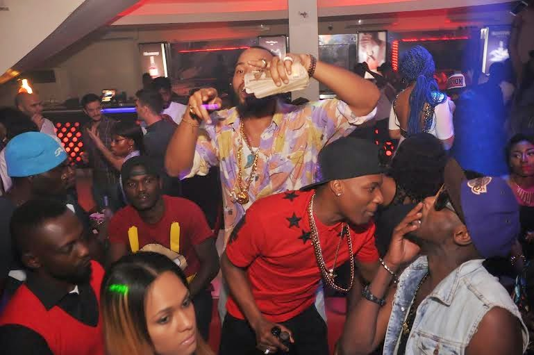 1 Photos: 2face, Wizkid, Sasha attend PREs 25th birthday party