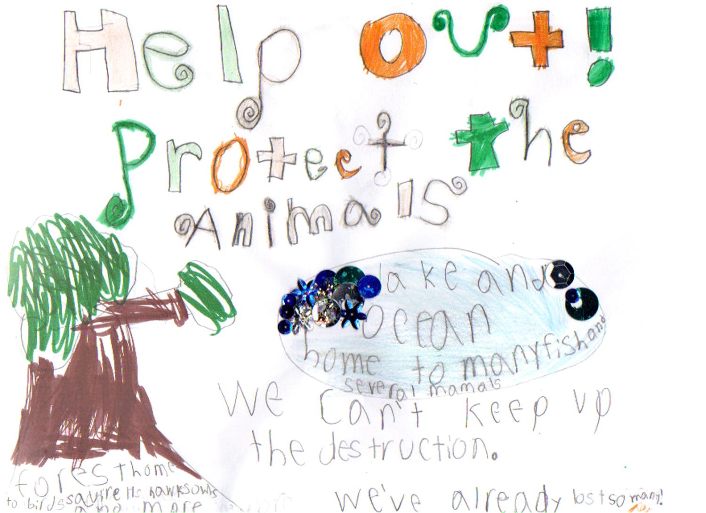 Kids For Protecting Animal Habitats Preservation