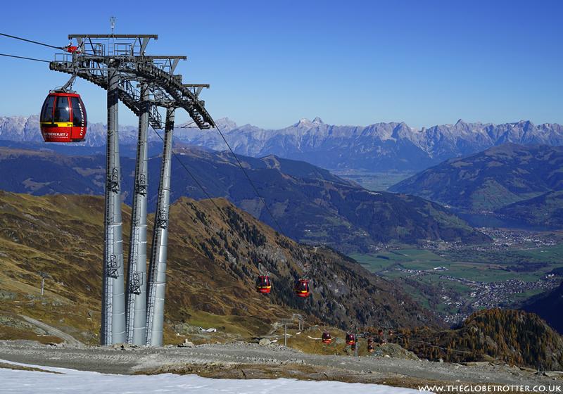 Visiting The Kitzsteinhorn Glacier In Kaprun Austria