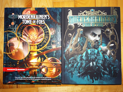 Mordenkainen's Tome of Foes Covers