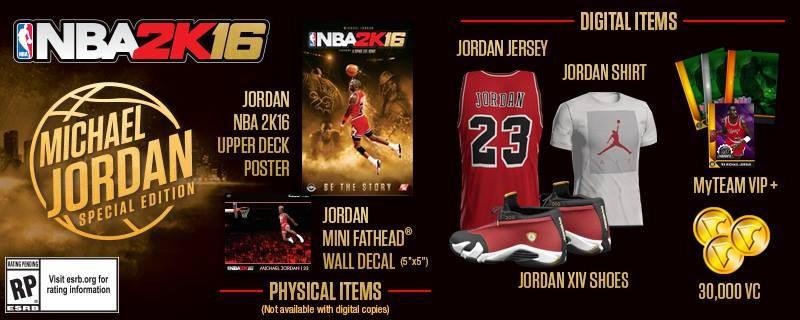 michael jordan edition bonus