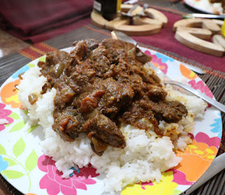 Goat Curry for dinner