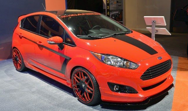 Ford Fiesta Indonesia orange