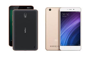 Nokia 2 vs Xiaomi Redmi 4A