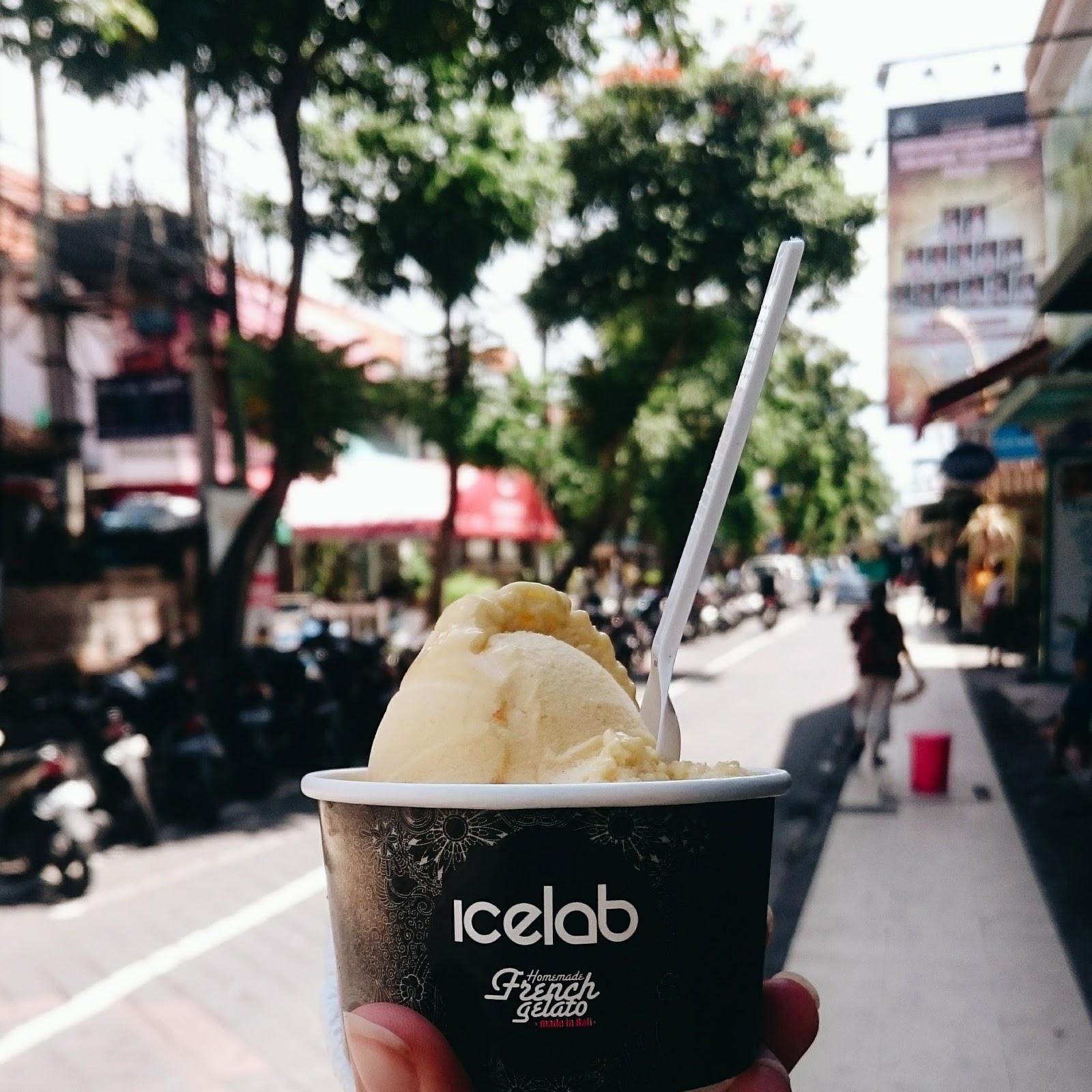 Best mango sorbet in Kuta, Bali