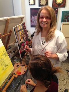 Les retrouvailles des artistes de l'atelier Artemisia 2