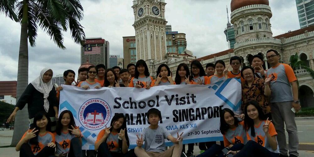 Siswa IGCSE 1 Ikuti School Visit Singapura-Malaysia 2017