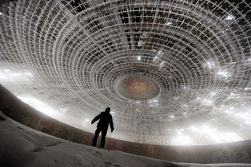 7. House of the Bulgarian Communist Party, Bulgaria - 31 Haunting Images Of Abandoned Places That Will Give You Goose Bumps