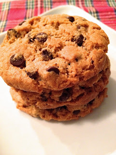 Flourless Peanut Butter and Chocolate Chip Cookies 2