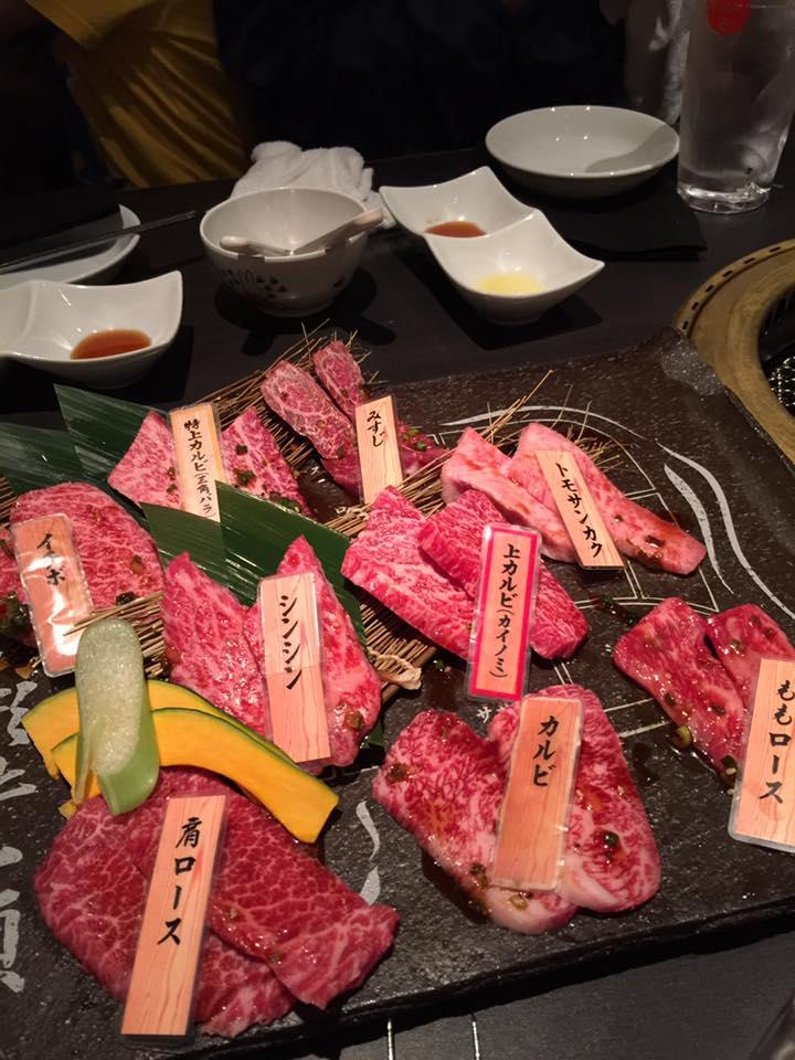 林公子生活遊記: 食在東京 山形美味 和牛 放題~!一次品嚐各個牛肉部位! 燒肉 土古里 入口即溶好滋味~