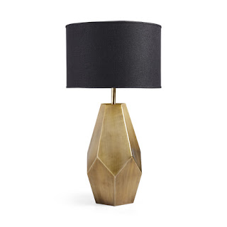 Arhaus Bezier Gold Table Lamp