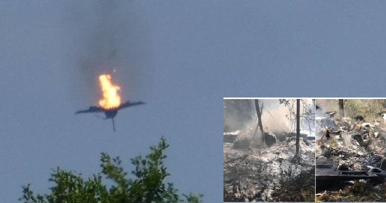 Βίντεο - ντοκουμέντο: Η στιγμή που το Εurofighter πέφτει στο έδαφος - Νεκρός ο ένας πιλότος