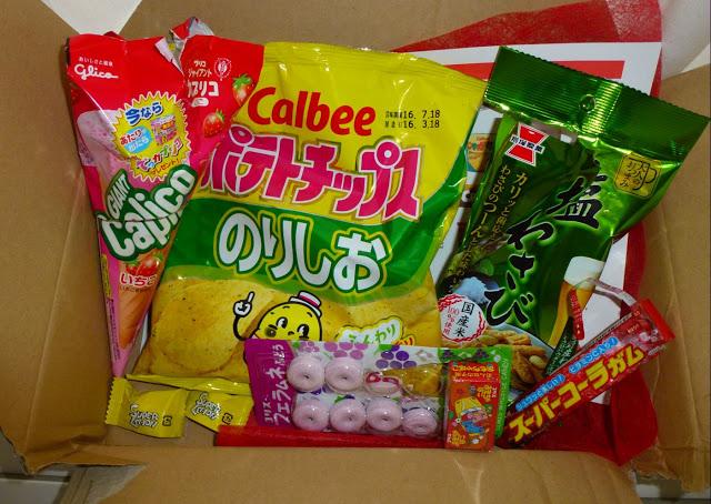ιαπωνικά σνακ