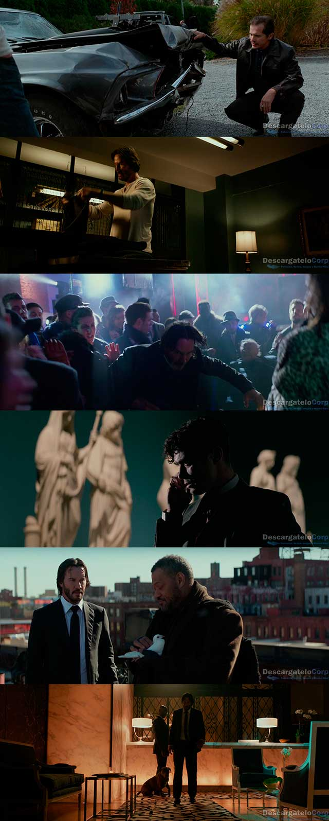 John Wick 2 Un Nuevo Día para Matar (2017) 4K UHD Latino Dual