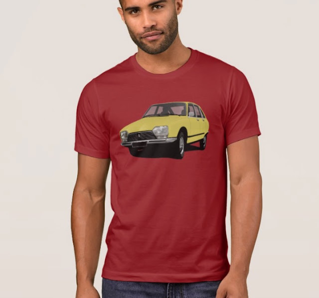 Citroën GS t-shirt