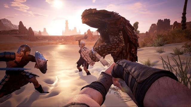 لعبة Conan Exiles قد تدعم اللعب المشترك بين أجهزة PC و Xbox One